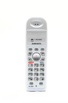 Free White Cordless Phone Stock Photos - 19109523