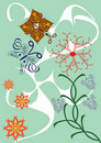 Free Abstract Floral Ornament Royalty Free Stock Photography - 19118637