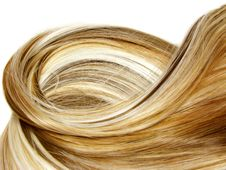 Free Highlight Hair Texture Background Stock Image - 19110331