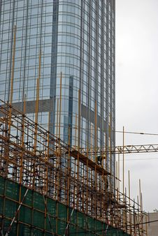 Free Skyscraper In Construction Stock Images - 19110594