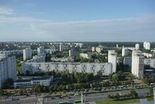 View From National Library, Minsk Stock Photography