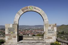 Free Old Stone Gate Royalty Free Stock Photography - 19111097