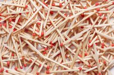 Matches Background Stock Photo