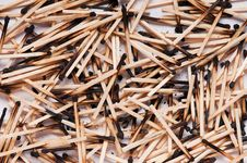 Free Burned Matches Stock Photos - 19113683
