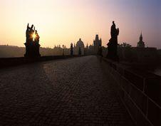 Free Charles Bridge, Prague Royalty Free Stock Images - 19114169