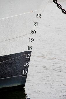 Free Numbers On A Boat Royalty Free Stock Photos - 19114208