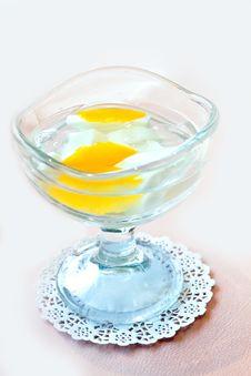 Free Beautiful Desert Of Mango Slices Stock Photo - 19115400