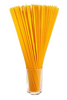 Free Uncooked Italian Spaghetti. Stock Images - 19116694