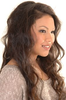 Free Pretty Asian Girl. Royalty Free Stock Photos - 19117028