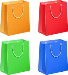 Free Paper Bags Royalty Free Stock Photos - 19117818
