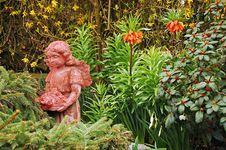 Garden Fairy Stock Photography