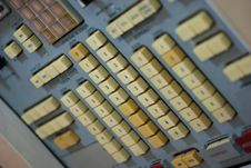 Free Control Panel Of The Old Space Station 4 Stock Photography - 19118022