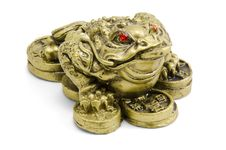 Free Feng Shui Frog Stock Photos - 19118523