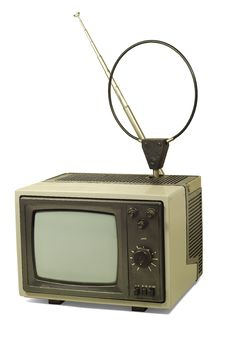 Free Old Dirty TV Royalty Free Stock Image - 19118816