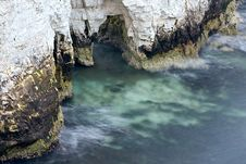 Free Chalk Cliffs Erosion Stock Image - 19118881