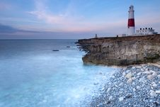 Free Portland Bill At Dawn Stock Photo - 19118890