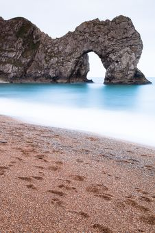 Free Durdle Door Long Exposure Stock Images - 19118904