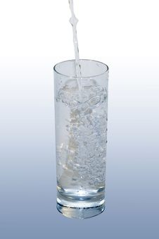 Free Water Glass Stock Image - 19118951