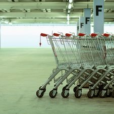 Free Shopping Carts Stock Image - 19119031