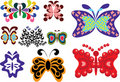 Free Set Of Butterflies Stock Photography - 19122882