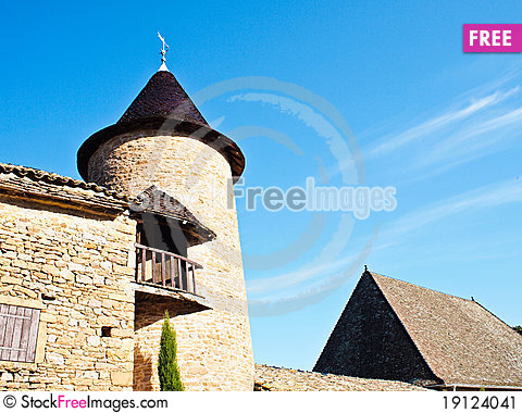 Free Old House In France Stock Image - 19124041