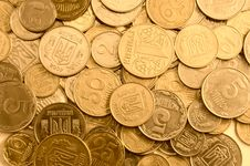 Free Gold Coins As A Background Royalty Free Stock Images - 19120149