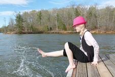 Free Fun At The Lake Royalty Free Stock Images - 19120589