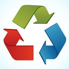 Free Recycle Icon Stock Photo - 19121700