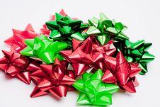 Free Isolated Holiday Bows II Stock Photos - 19122143