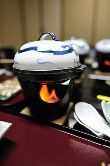 Free Japanese Cuisine:  The Hotpot Stock Photos - 19122483