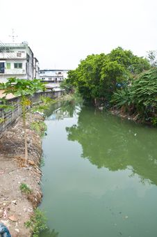 Free Canal In Thai Stock Photos - 19122593