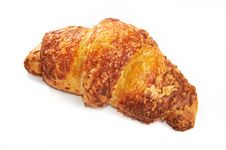 Free Croissant Cheesy Isolated Stock Image - 19122891