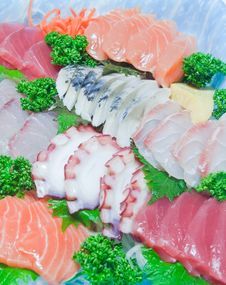 Free Mixed Sashimi Stock Photos - 19122973