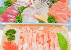 Free Mixed Sashimi Stock Image - 19123001