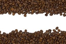 Free Beautiful Coffee Beans Background Stock Image - 19123341