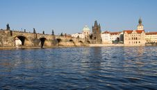 Free Prague Panorama Royalty Free Stock Photography - 19123727
