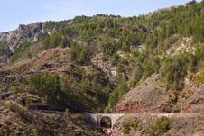 Free Site Of The Gorges Of Daluis, France Royalty Free Stock Images - 19123779