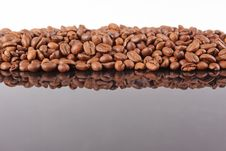 Free Coffee Beans Background Royalty Free Stock Image - 19124196