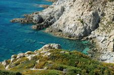 Free Rocky Coastline In Corsica Stock Photo - 19124220