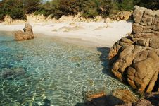 Free Rocky Coastline In Corsica Royalty Free Stock Photo - 19124245