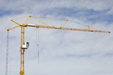 Free Construction Crane Stock Photography - 19124882