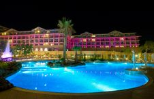 Free View Of A Modern Resort In Kemer, Antalya Stock Photography - 19125152