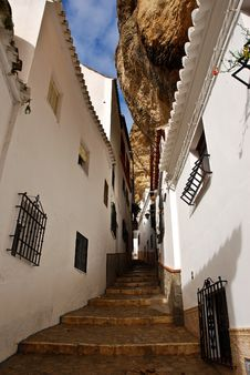 Free Setenil Village Royalty Free Stock Photo - 19125395