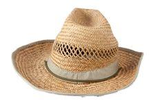Free Straw Hat Royalty Free Stock Photos - 19125578