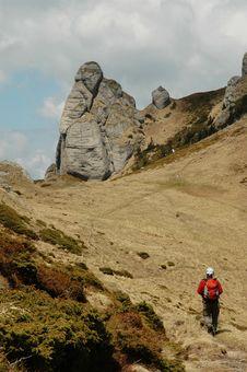 Free Trekking In Ciucas Mountains, Romania Stock Image - 19126001