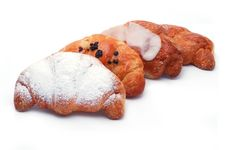 Different Types Of Croissants Stock Images