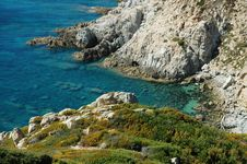 Point Of The Revellata, Calvi, Corsica Stock Photography