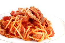 Free Spaghetti Royalty Free Stock Photo - 19128475