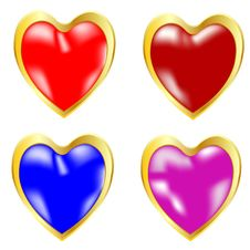 Free Symbols Heart Miscellaneous Of The Colour Royalty Free Stock Image - 19128596