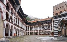 Free Rila Monastery In Bulgaria Royalty Free Stock Photos - 19128648